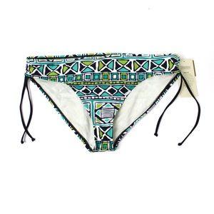 2bamboo Aztec Printed Side Tie Bikini Bottoms